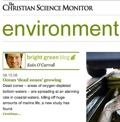 Christian Science Monitor - Environment section
