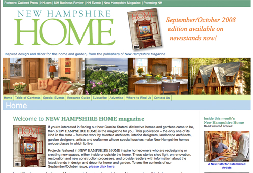 New Hampshire Home