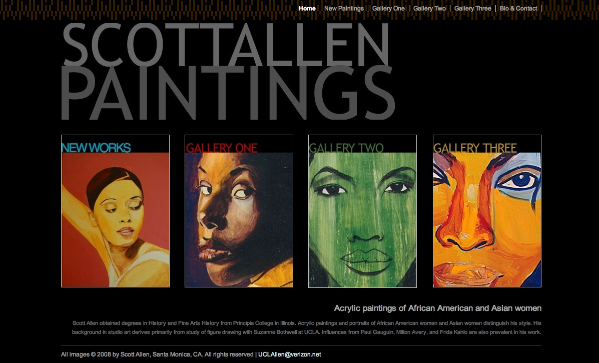 Scott Allen Paintings